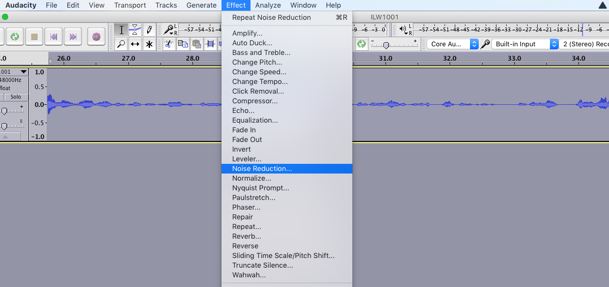 Cleaning up Audio Files for Podcasting – Wide Q